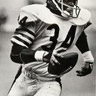 Walter Payton Chicago Bears Classic BW Football 32x24 Print Poster