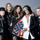 Aerosmith Steven Tyler Awesome USA Flag Retro Band 24x18 Wall Print POSTER