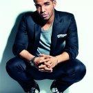 Drake Jacket Squatting Handsome Rap Music Artist Singer 24x18 Wall Print POSTER
