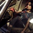 Mila Kunis Car Boots Amazing Hot Sexy Actress Rare 24x18 Wall Print POSTER