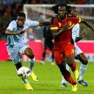 Romelu Lukaku Dribbling Belgium France Soccer Football 24x18 Wall Print POSTER