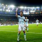 Lionel Messi Goal Celebration Argentina FIFA World Cup 24x18 Wall Print POSTER