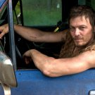 Norman Reedus Actor Handsome Truck The Walking Dead 24x18 Wall Print POSTER