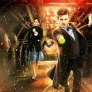 Clara Oswald Jenna Coleman Matt Smith Doctor Who TV 24x18 Wall Print POSTER