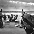 D Day Omaha Beach Normandy Landings Invasion War Retro 24x18 Wall Print POSTER