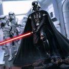 Darth Vader Stormtroopers Lightsaber Star Wars Movie 24x18 Wall Print POSTER