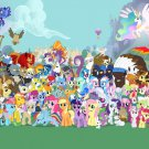 Characters My Little Pony Friendship Is Magic Cute 24x18 Wall Print POSTER