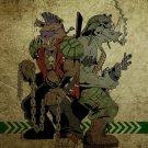 Bebop And Rocksteady TMNT Teenage Mutant Ninja Turtles 24x18 Wall Print POSTER