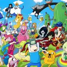Adventure Time Cartoon Characters Art 24x18 Wall Print POSTER