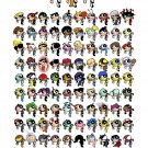 The Powerpuff Girls Cool Characters Kids Cartoon Art 24x18 Wall Print POSTER