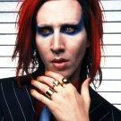 Marilyn Manson Portrait Heavy Metal Shock Rock 2014 24x18 Wall Print POSTER
