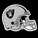 Oakland Raiders Helmet Logo Art Football Sport 24x18 Print Poster