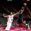 LeBron James Monster Dunk Posterize Olympics 24x18 Print Poster