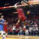 LeBron James Monster Dunk Miami Heat Sport 24x18 Print Poster