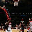 LeBron James Tomahawk Dunk Miami Heat 24x18 Print Poster