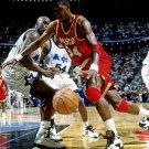 Hakeem Olajuwon The Dream Houston Rockets Game 24x18 Print Poster