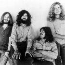 Led Zeppelin BW Retro Jones Page Bonham Plant Rock Band 16x12 Print POSTER