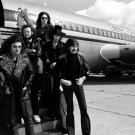 Deep Purple Amazing BW Retro Hard Rock Heavy Metal Band 16x12 Print POSTER