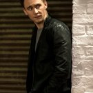 Tom Hiddleston Leather Jacket Hot Handsome Actor Rare 16x12 Print POSTER