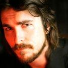 Christian Bale Portrait Handsome Charming Beard Actor 16x12 Print POSTER