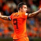 Robin Van Persie Captain The Netherlands FIFA World Cup 16x12 Print POSTER
