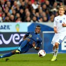 Paul Pogba Sliding Tackle France Soccer Football 16x12 Print POSTER