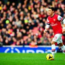 Mesut Ozil Dribbling Awesome FC Arsenal Soccer Football 16x12 Print POSTER
