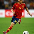 David Silva Spain Football Soccer Sport 16x12 Print POSTER