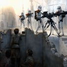 Imperial Stormtroopers Weapon Star Wars Movie Art 16x12 Print POSTER