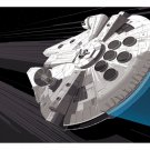Millennium Falcon Star Wars Movie Awesome Art 16x12 Print POSTER