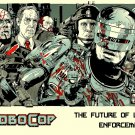 Robocop 1987 Movie Characters Awesome Art 16x12 Print POSTER