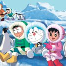 Doraemon Anime Pinguins Beautiful Art Kids 16x12 Print POSTER