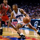 Muggsy Bogues Charlotte Hornets Tyrone Retro Vintage 16x12 Print POSTER