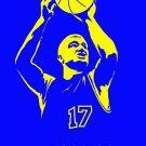 Chris Mullin Art Golden State Warriors Retro Sport 16x12 Print POSTER