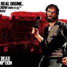 Red Dead Redemption Irish Video Game Art 16x12 Print POSTER