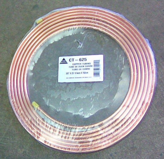 "Soft Copper Tubing 5/16""x25' Tube de cobre ouen cuivre CT-525"