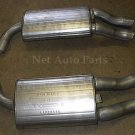 1984 Chevrolet Corvette BOTH Rear Mufflers OR737738