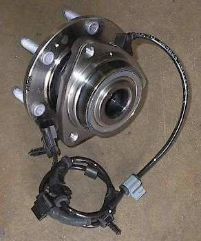 2005 - 2006 SAAB 9-7x Front Wheel Hub Bearing 513188