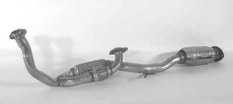 1995 - 1996 Lexus ES300 Front Pipe Catalytic Converter 099-3251
