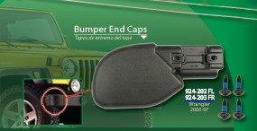 1997-2006 Jeep Wrangler Front Bumper End Cap LH 924-202