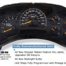 2003-2005 GMC Trucks SUV Remanufactured Instrument Cluster 599-300