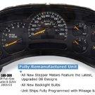 2003-2005 GMC Trucks SUV Remanufactured Instrument Cluster 599-300
