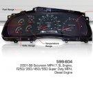 1999-2001 Excursion 7.3L, F150 350 450 550 Super Duty Instrument Cluster 599-604