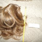 "real human hair extension 8"" long remy raw virgin blonde wave curl#26"