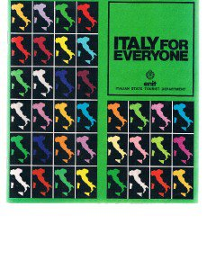 Vintage ITALY FOR EVERYONE booklet - no date  probably mid 1980's