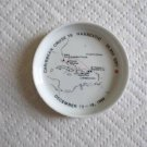 TS HANSEATIC Ashtray-Ship-Caribbean Cruise December 12-19-1969-Rosenthal Germany