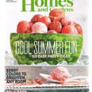 Better Homes And Gardens June 2015 -Summer Party 101 Ideas -Basil-Berry Colors +