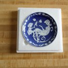 Royal Copenhagen annual Mother's Day Plate 1973 - Danish Mors Dag - cobalt blue