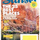 Sunset Magazine February 2015-Fast Fresh Recipes -Experience West-25 Best Places