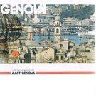 Vintage INVITATION TO GENOVA booklet - Genoa - Italy - circa 1970's-1980's